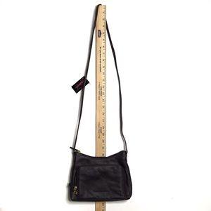 Stone Mountain Accessories Bags - NWT Stone Mountain Deep Plum Leather Crossbody Bag